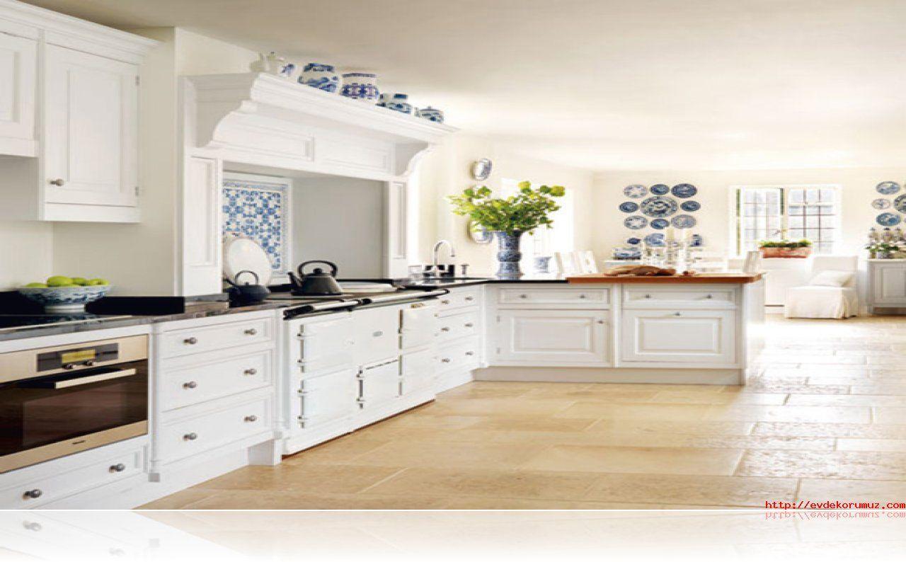 Klasik Beyaz Mutfak Dolabı | ev dekor | Pinterest