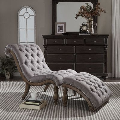 Auster Chaise Lounge and Ottoman Set Color: Gray - http://delanico ...