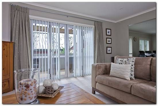 Vertical Blinds With Drapes Vertical Blinds Home Curtains