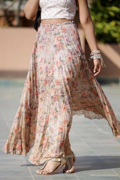 pretty in pleats!  pleated fashion