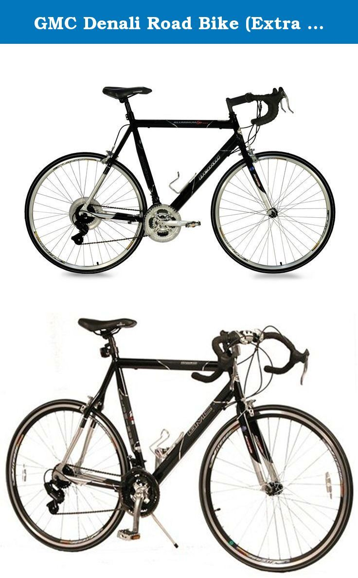 Gmc Denali Road Bike Extra Large 25 63 5cm Frame Black Silver Our Gmc Denali Is A Road Racing Style Bicycle Featuring A 7005 Aluminum F Gmc Denali