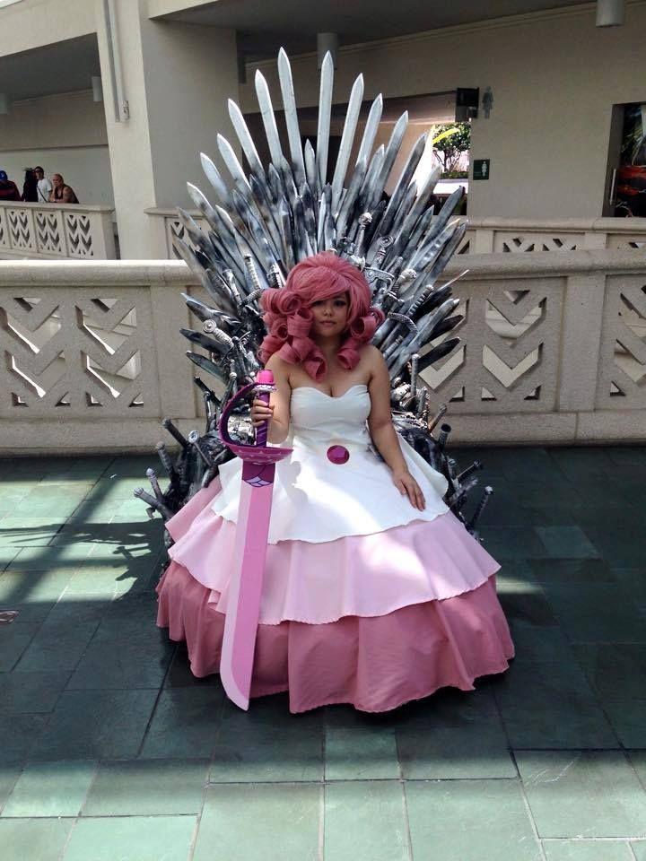 Rose cosplay steven universe