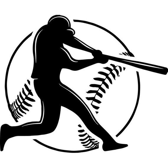 Photo of Baseball Logo #22 Player Tournament Ball Bat League Equipment School Team Game Field Sport Logo.SVG .EPS .PNG Vector Cricut Cut Cutting File