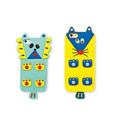 Είναι κρυμμένο πίσω από το πολύχρωμο ποντικάκι! Μη φοβάστε είναι για την προστασία του! Καλύμματα για iPhone 5/5S ή 6/6S.