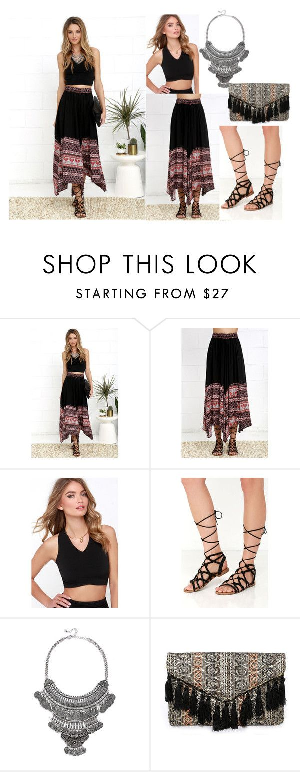 """""""2016/80"""" by dimceandovski on Polyvore featuring Lulu*s and Steve Madden"""