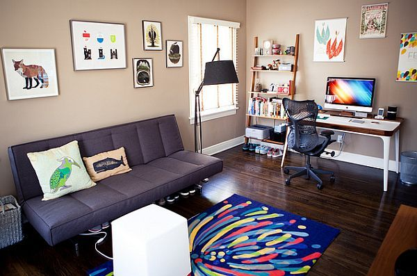 Superb Modern Minimalist Home Office Desk Amalgamates Ergonomic Design With  Elegant Form