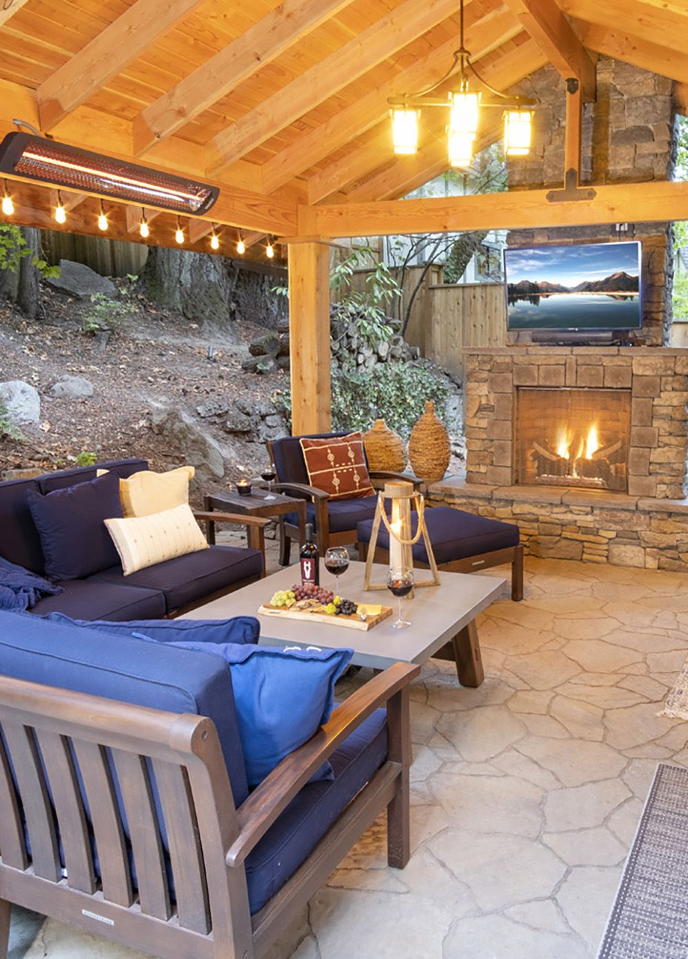 Backyard Renovation Paradise Restored Landscaping In 2020 Cozy Living Spaces Backyard Renovations Cozy Living