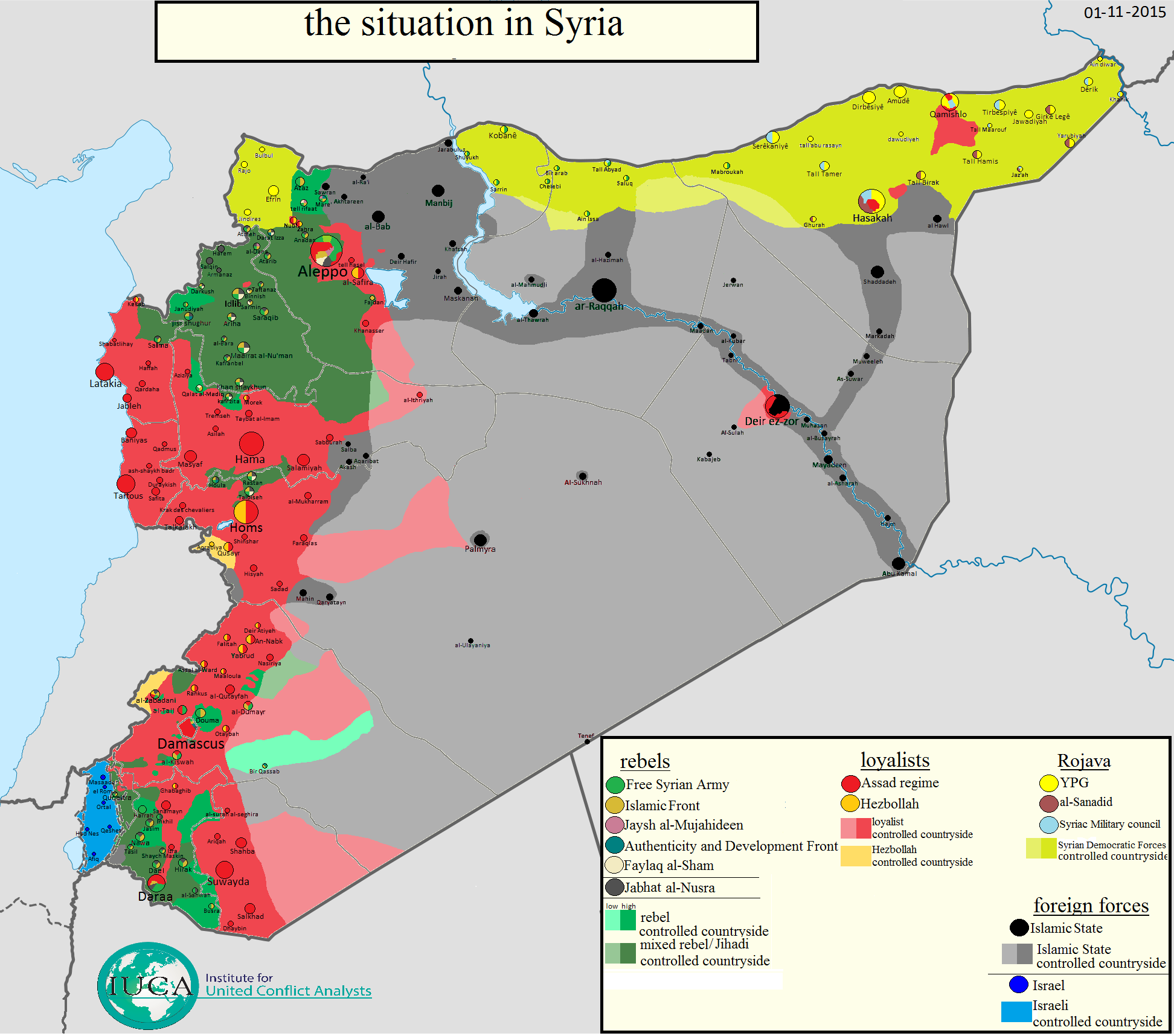 new syria map dd september 2015 by