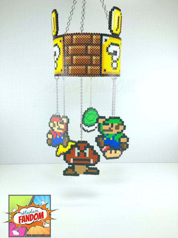 Charmant You Are Purchasing A Hanging Mobile Inspired By Super Mario Bros. The Topu2026