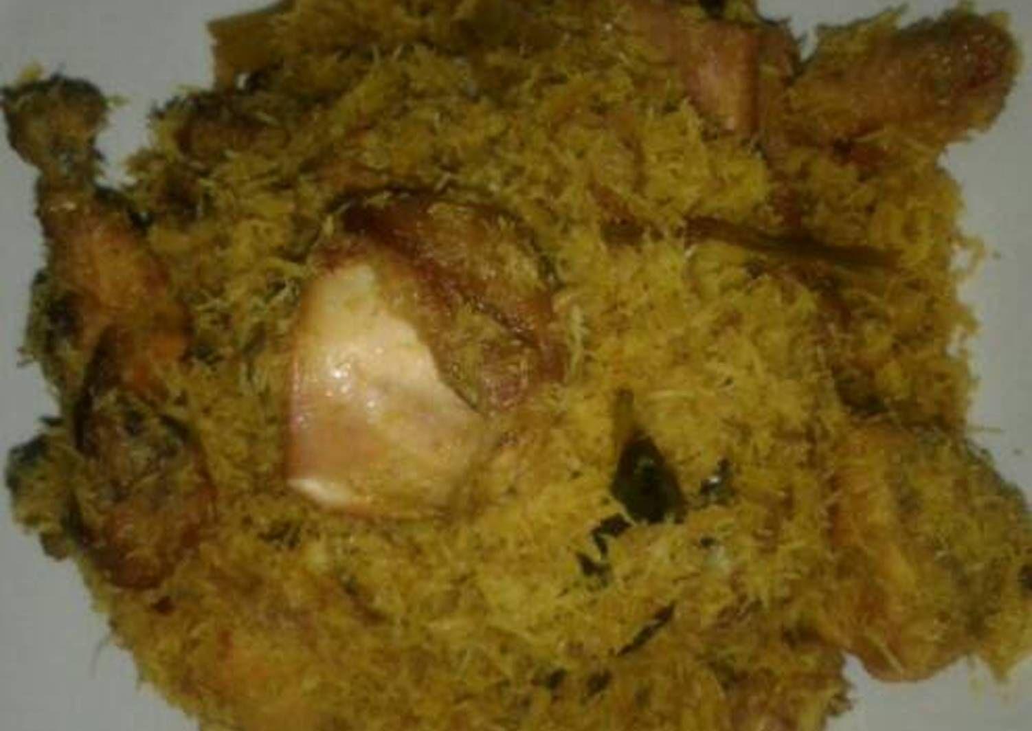 Resep Ayam Serundeng Kelapa Oleh Susanti Maris Resep Resep Ayam Makanan Resep