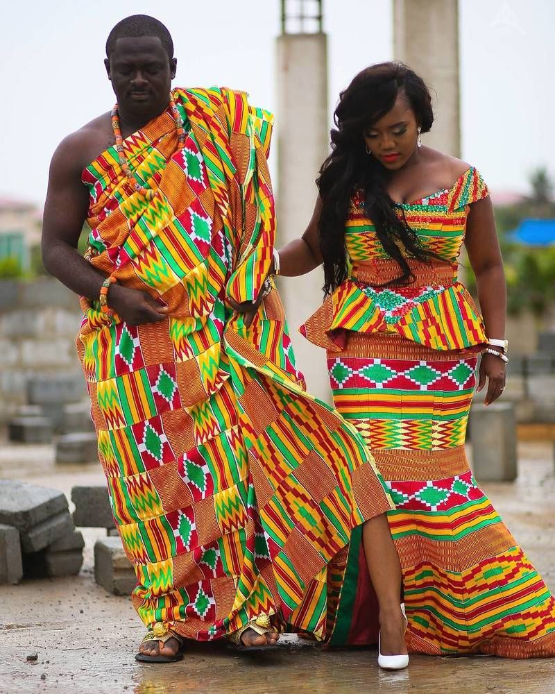 10 fabuleuses robes en pagne kita du Ghana qui vont épater vos convives   Pagne kita, Robe, Mode ...