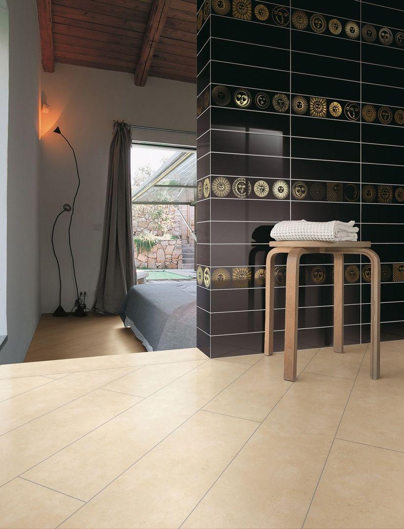 Ceramica BARDELLI | Collezione Soli e Lune 10x40 (design di Piero Fornasetti)