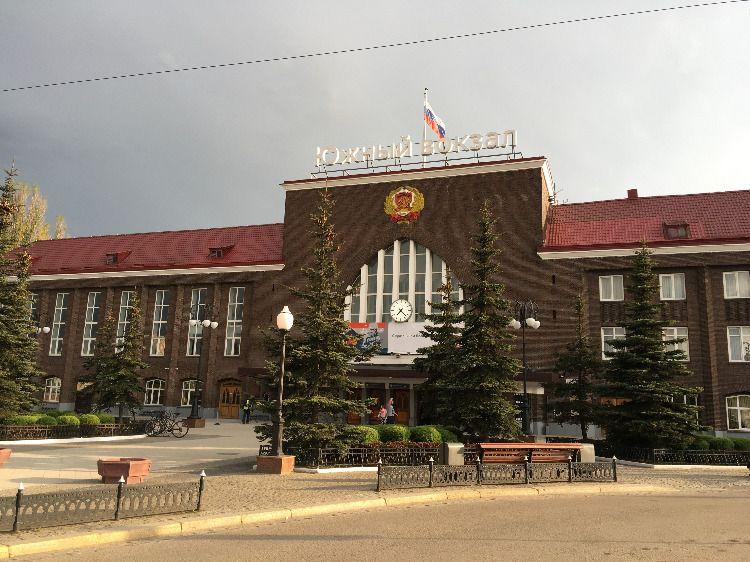 Южный вокзал Калининграда, куда прибывают поезда