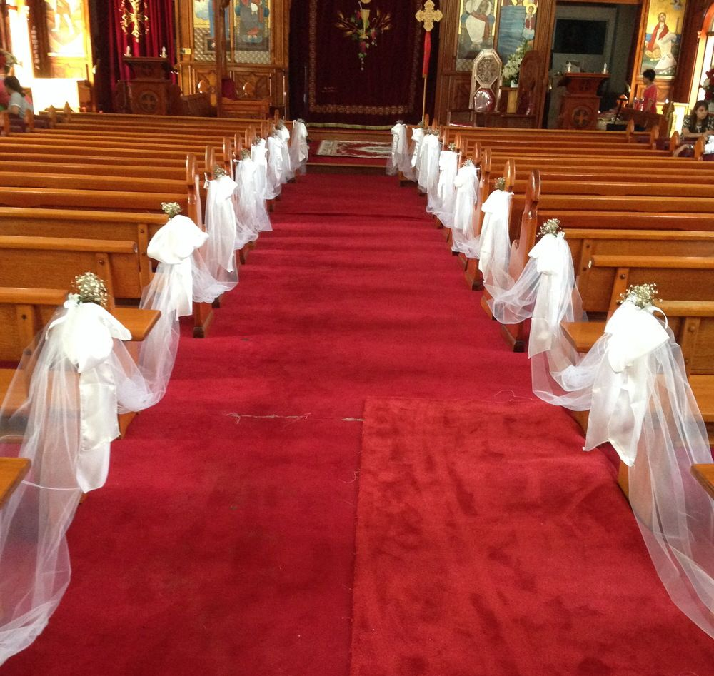 Wedding Pew Decoration Ideas: Pew Wedding Decorations