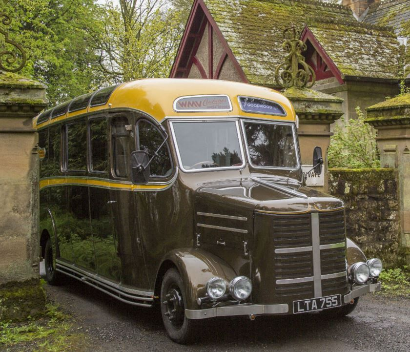 This 1950 Bedford OB bus has been fully rebuilt on top of modern Iveco diesel truck running gear, while the interior has been completely redone with high-end finishes and fittings throughout. The result is truly impressive, and the seller claims more than 200k GBP or nearly $300,000 USD invested. Fi