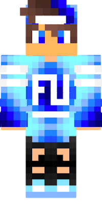 Cool Blue Boy In 2020 Minecraft Skins Cool Minecraft Skins Minecraft Skin