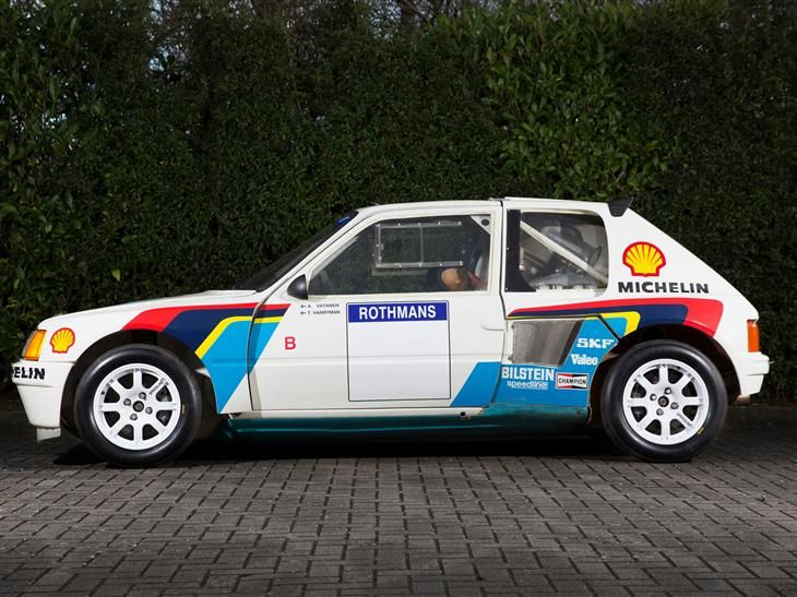 classique peugeot 205 t16 evo 1 vendre classic sports car ref buckinghamshire peugeot. Black Bedroom Furniture Sets. Home Design Ideas