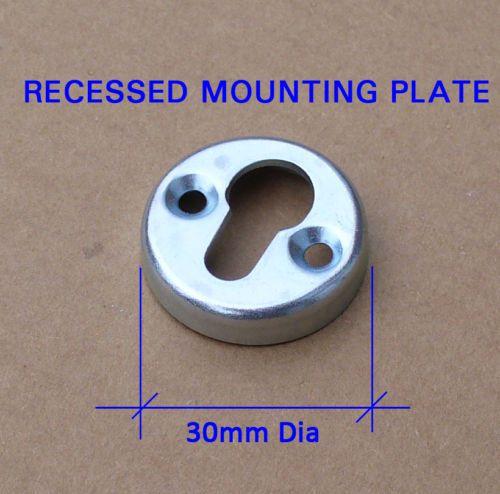 10 x Strong Flush Keyhole Slotted Floating Shelf Mirror