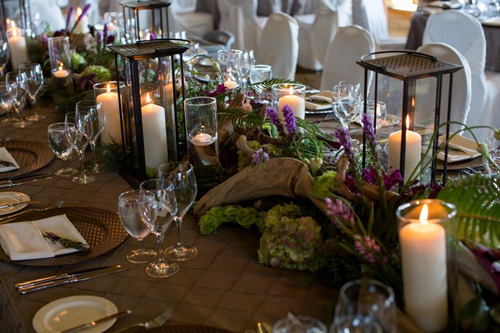 Table scape rustic summer wedding wedding tablescapes for Decore hotel jasper