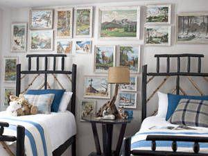 camera da letto per bambini con quadri | idee per la camera dei ... - Quadri Per La Camera Da Letto