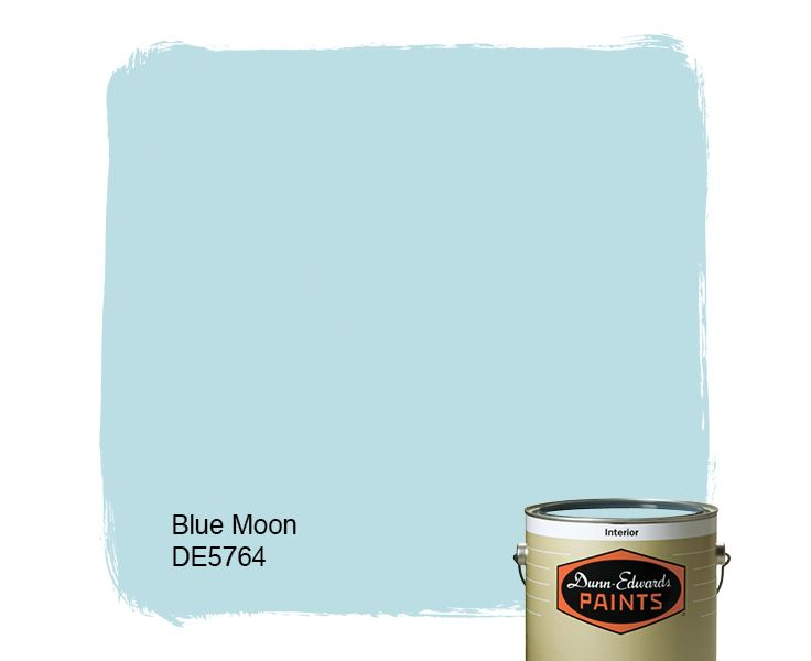 Dunn edwards paints blue paint color blue moon de5764 for Dunn edwards paints colors