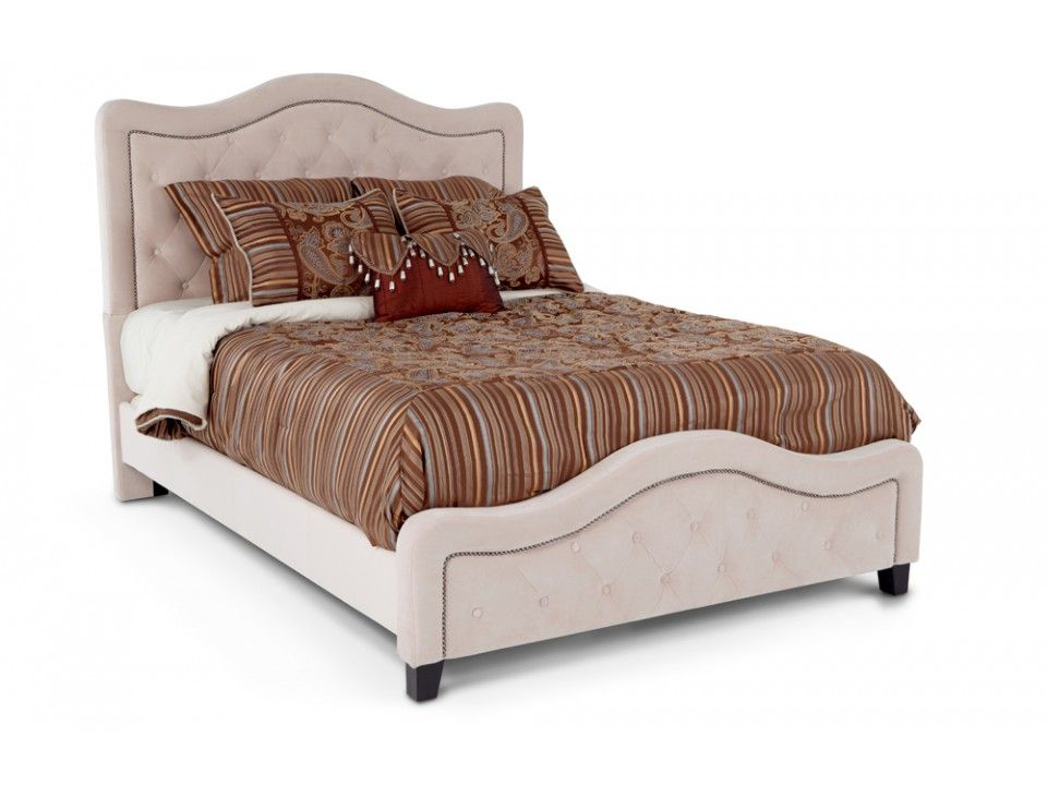 Troy King Bed Beds  Headboards Bedroom Bob\u0027s Discount