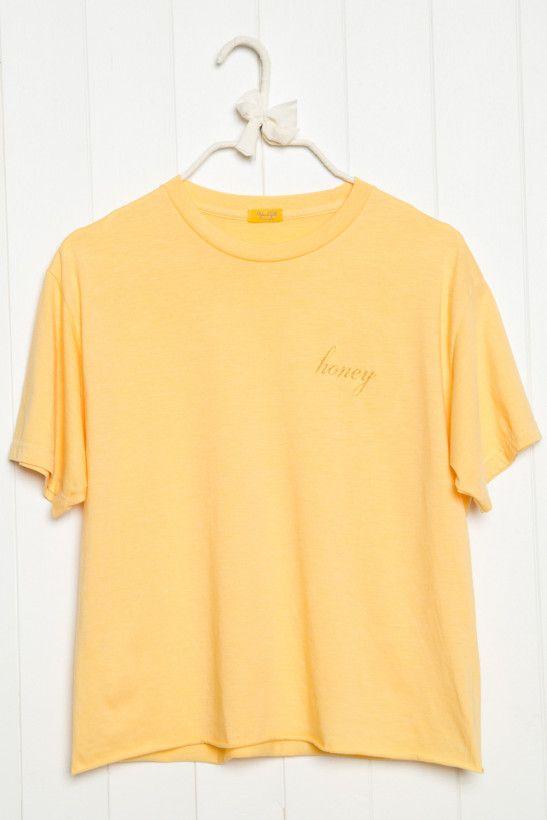 Aleena Honey Embroidery Top Honey Shirt Clothes Fashion