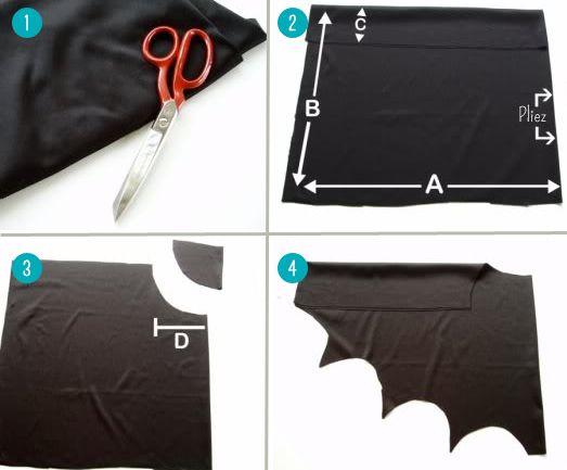 costume de batman halloween pinterest deguisement. Black Bedroom Furniture Sets. Home Design Ideas