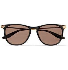 Barton Perreira - Hakan D-Frame Acetate and Metal Sunglasses MR PORTER