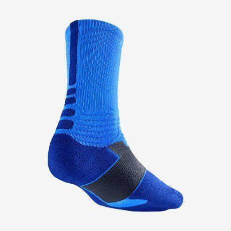 best online best wholesaler elegant shoes NIKE Hyper Elite Basketball Crew Socks - L - Blue Hero/Game ...