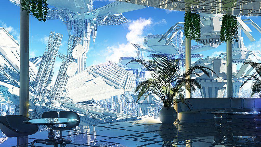 わいっしゅ on Twitter   Scenery paintings, Cool backgrounds ...