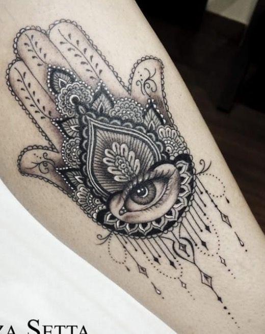 Fátima Tetoválások Tattoos Hamsa Tattoo és Mandala Tattoo