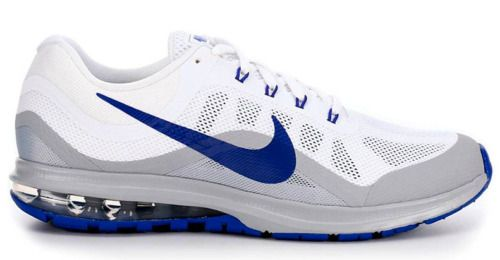 7400be9c89 fashion Nike Air Max Dynasty 2 White Paramount Blue Grey 852430-104 Men's  Running Shoes