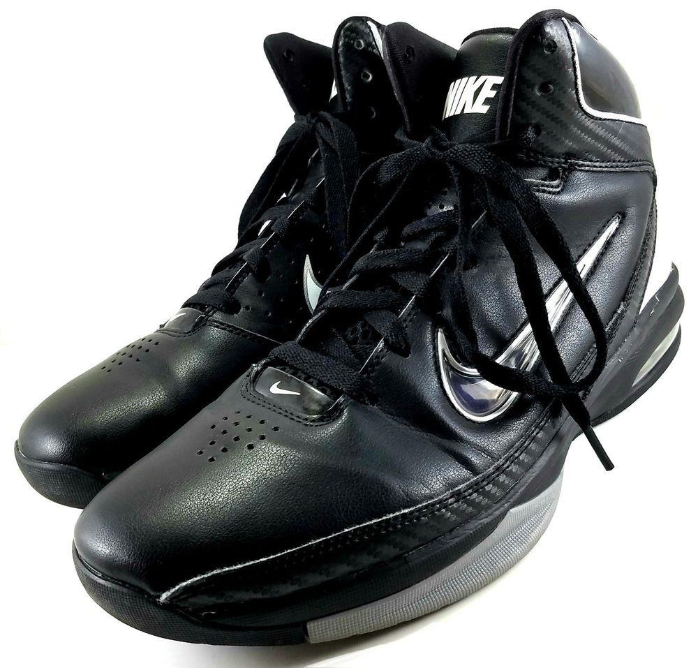 Nike Shoes   Air Max High Tops Mens Size 8 Black   Poshmark