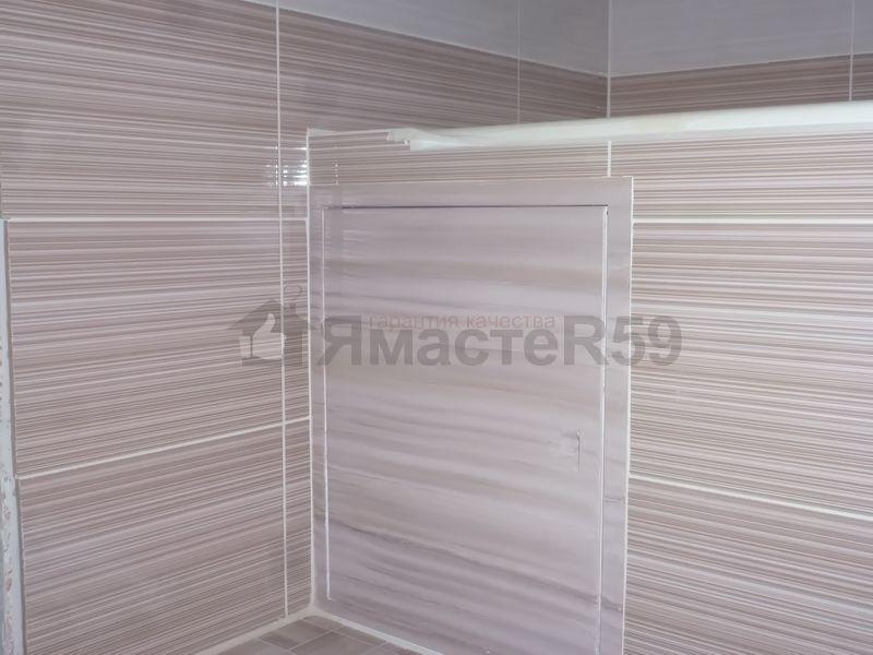 Ревизионный люк в ванной комнате своими руками