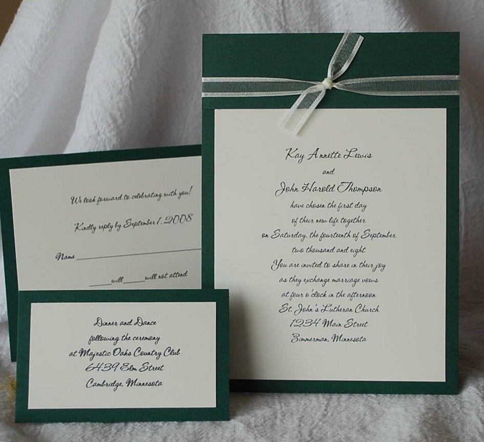 Hunter Green Weddings Find Me Diy Wedding