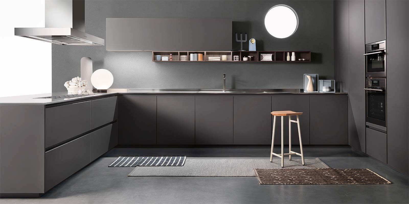 italian modern design kitchens one by ernestomeda cuines