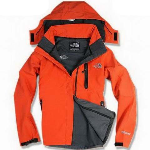 Womens The North Face Windstopper Gore Tex Jackets Orange