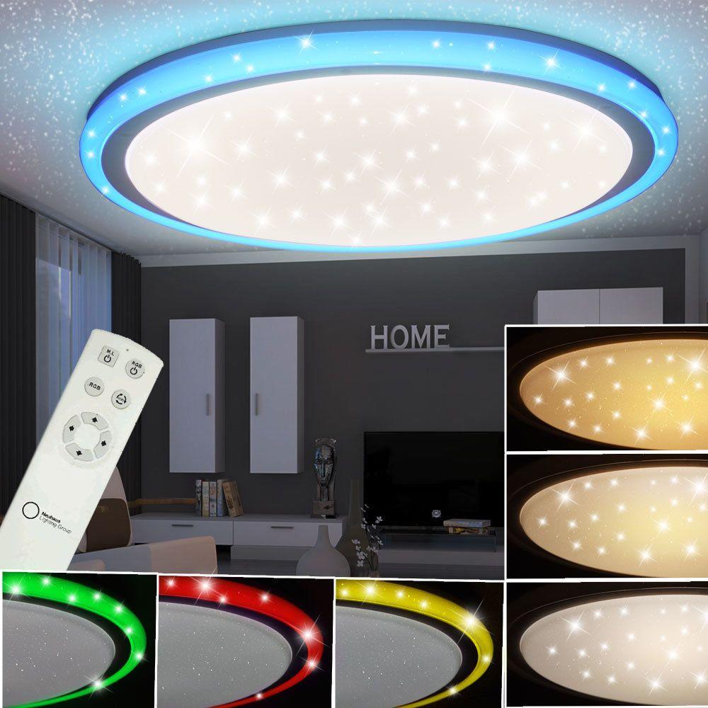 Rgb Led 32 W Decken Lampe Kinderzimmer Cct Sternen Effekt Strahler Fernbedienung Eur 76 50 Leuc Lampe Kinderzimmer Deckenlampe Kinderzimmer Led Deckenlampen