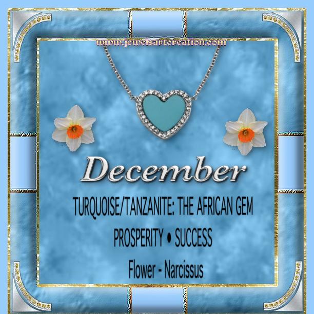 Zodiac and Birth Month Jewels Art Creation Birth