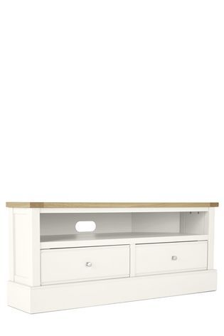 new styles e203e c62aa Buy Shaftesbury Painted Corner TV Unit from the Next UK ...