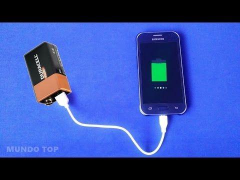 ae996c71094 Construye un CARGADOR DE MOVIL CASERO PORTATIL CON USB (celular), muy facil  y rapido. Learn how to make a charger for mobile. Aprende como construir  tus ...