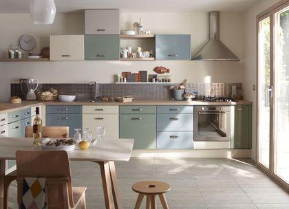 Cuisine couleur  nos modèles de meubles de cuisine préférés