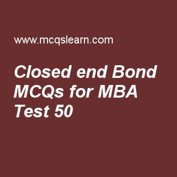 MBA quiz 50 to learn investment analysis and portfolio management - investment analysis