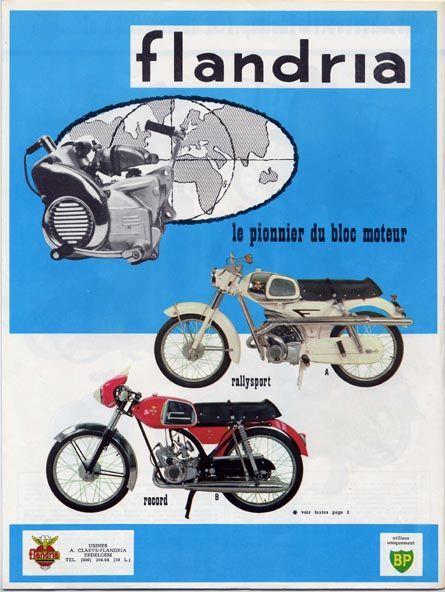 Flandria 1964 Motos Cyclomoteur Motos Anciennes
