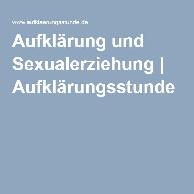 Bzga unterrichtsmaterial sexualkunde