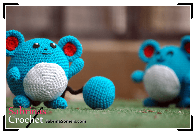 Amigurumi Doll Gratuit : Crochet pattern marill free crochet amigurumi and pokémon