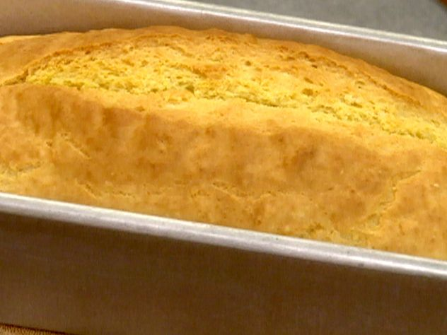 Quick Fix Beer Bread Recipe : Robin Miller : Food Network - FoodNetwork.com I substituted in 1/4 C. cornmeal