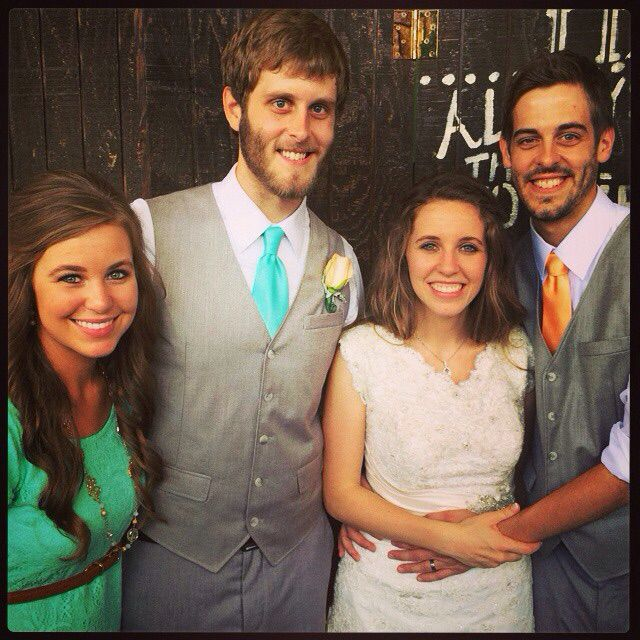 19 Kids And Counting S Jill Duggar And Derick Dillard: Dillard's With The Maidtran Of Honor And Best Man