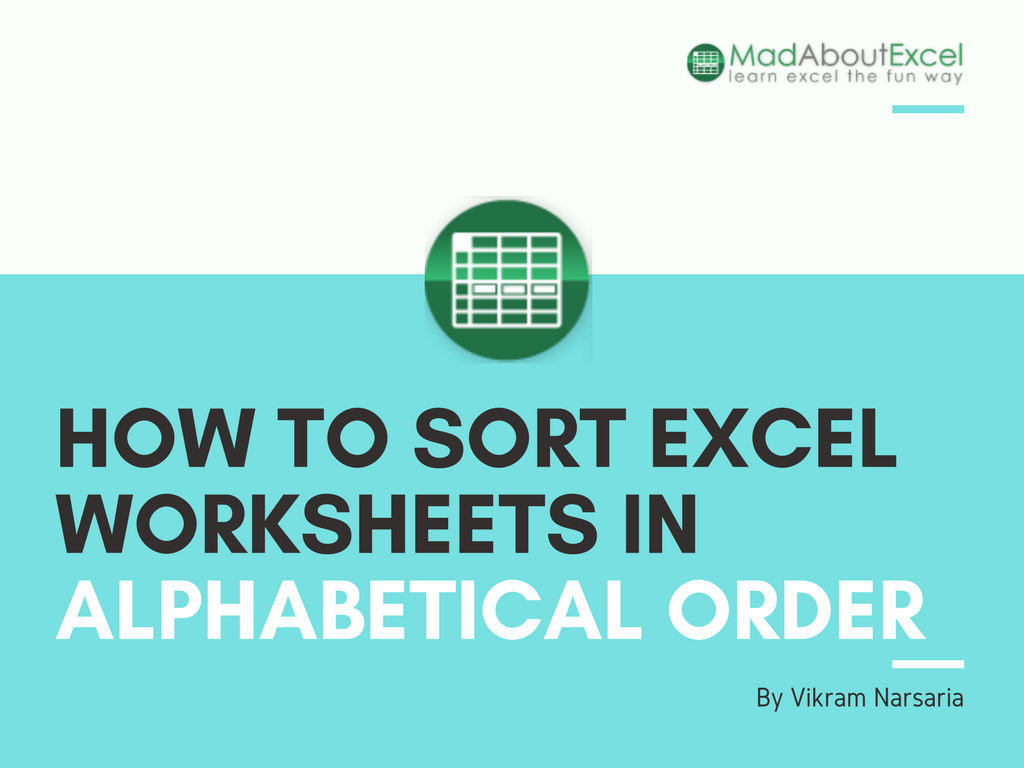 Workbooks microsoft excel workbooks : This short article describes how you can arrange the sheets in an ...